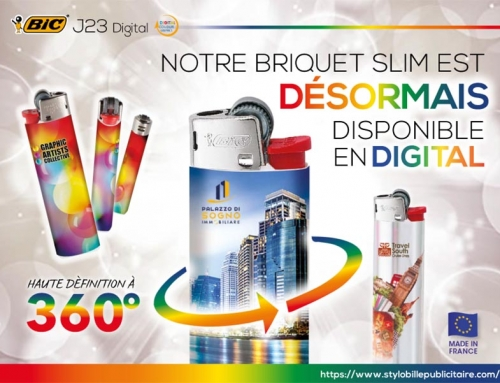 Briquet BIC® J23 Digital 360°