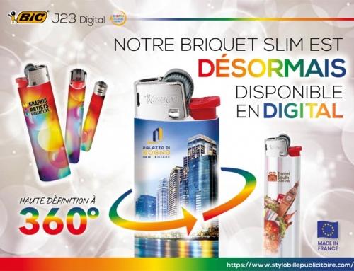 Briquet BIC® J23 Digital 360°