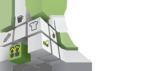 Tongs publicitaires Logo